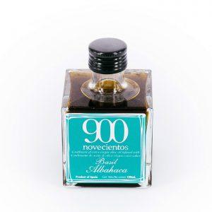 Aceite de oliva sabor albahaca