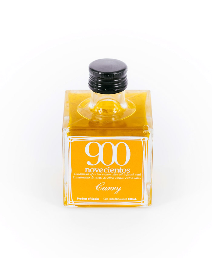Aceite de oliva sabor curry