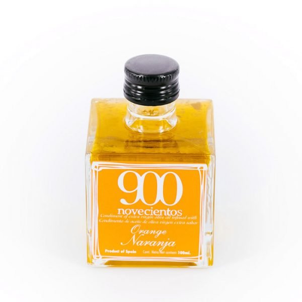 Aceite de oliva aromatizado naranja