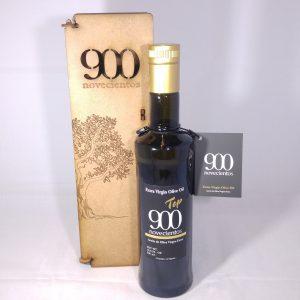 Caja de madera con AOVE Premium 900 TOP