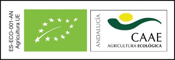 sello certificado CAAE ecológico Aceite de oliva virgen extra Novecientos