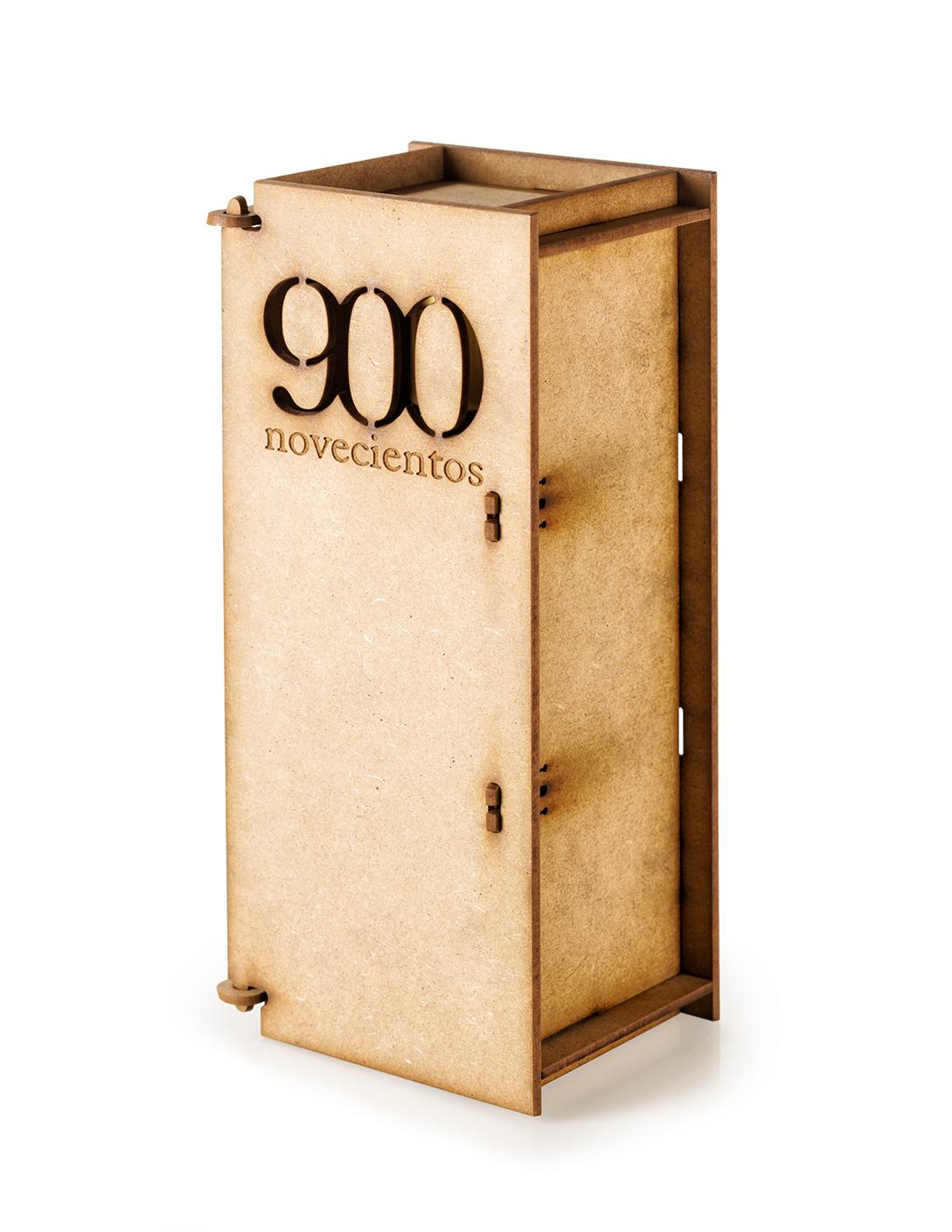 Caja para botella 500 ml. AOVE 900