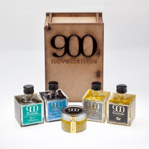 Pack regalo aceite de oliva aromatizado y caviar de aceite,Pack aceite gourmet