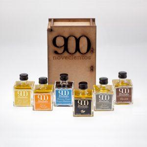 Pack aceites aromatizados 900.Regalos aceite de oliva gourmet