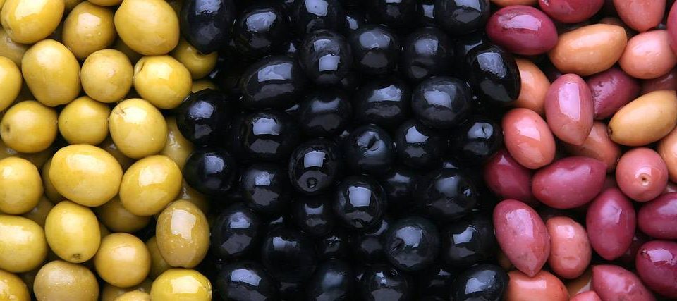 variedades de aceitunas