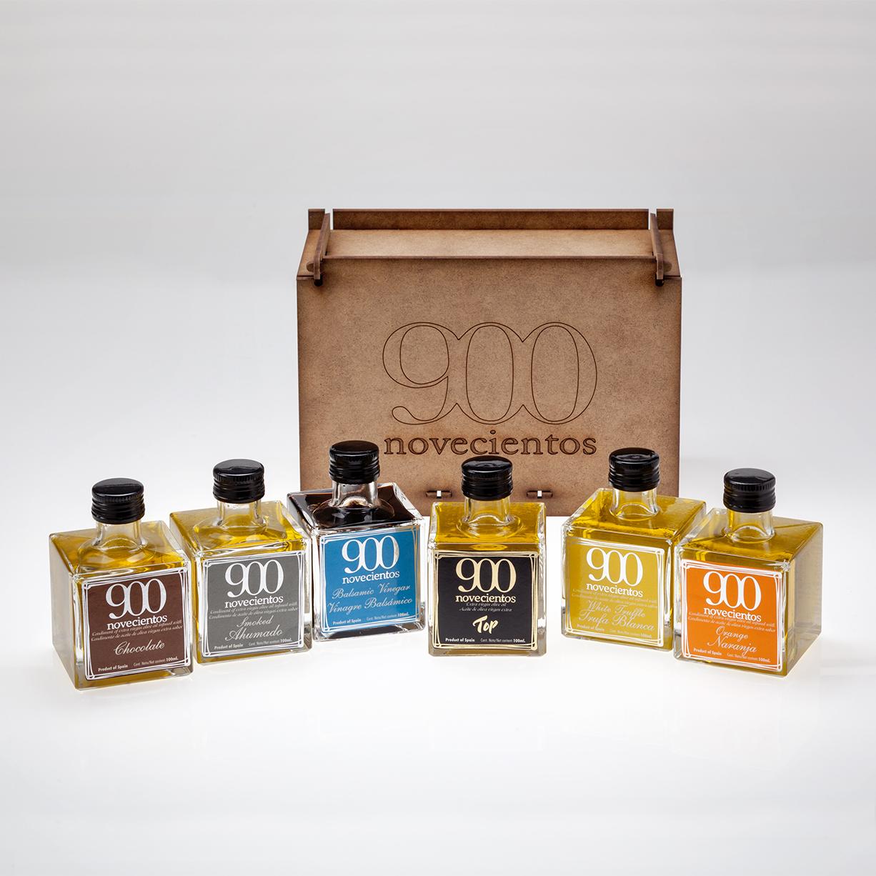 Lote EVOO 900 de aromas y vinagre, Naranja