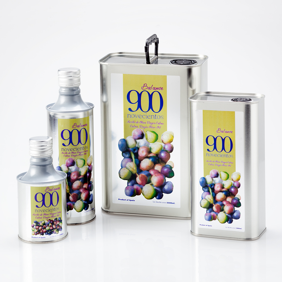 Gama Aceite de oliva virgen extra 900 BALANCE