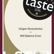Great Taste 2016. 900 Balance EVOO