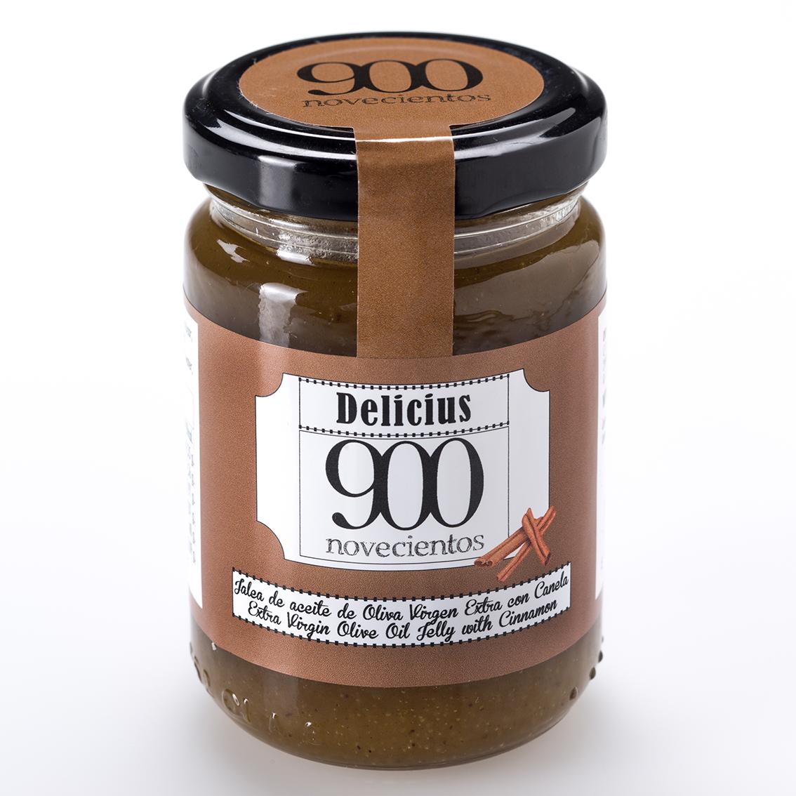 mermelada de aceite de oliva con canela