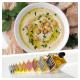 Hummus con distintos aromas y sabores