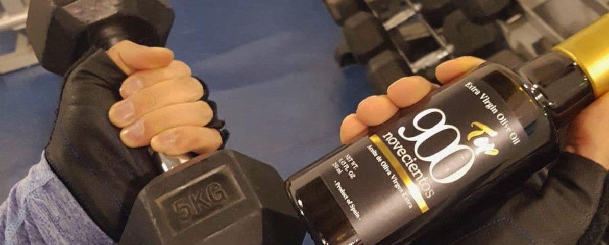 Aceite de Oliva Virgen Extra para mejorar el rendimiento deportivo