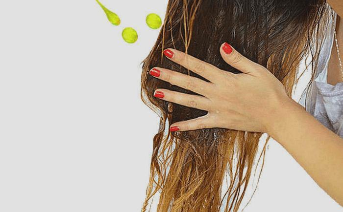 Aceite de oliva para el cabello para dar brillo, hidratación y protección.