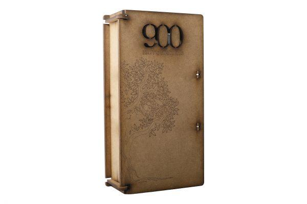 エクストラバージンオリーブオイルの箱
