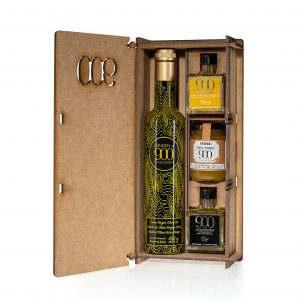 gift box with EVOO